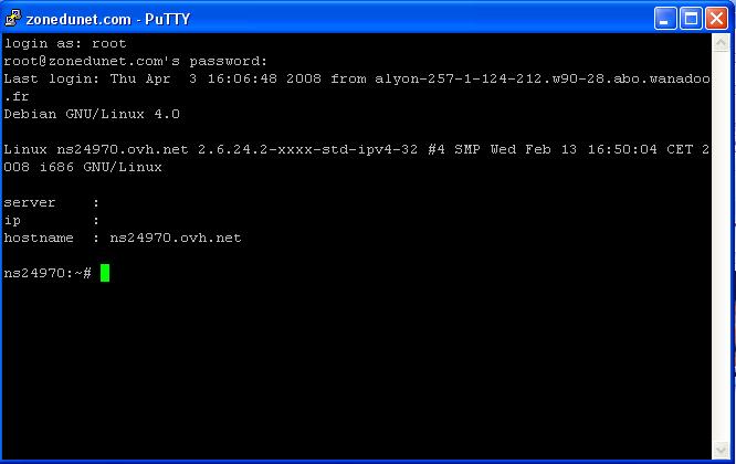 installation et utilisation d u0026 39 un serveur ssh sous debian etch