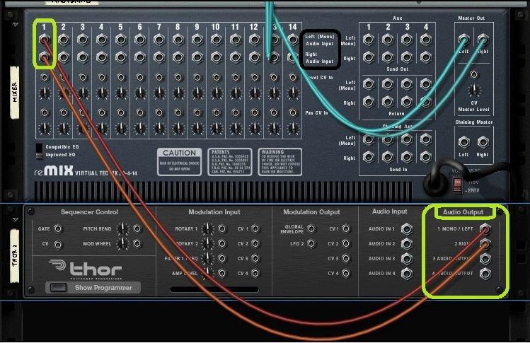 Fonctionnement une musique professionnelle avec reason Comment choisir une table de mixage