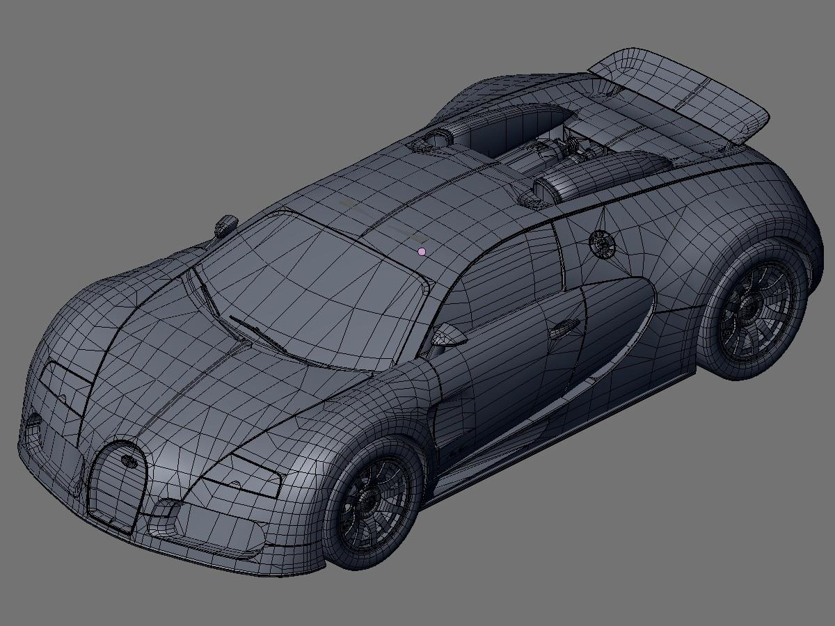 Wip Bugatti Veyron Par Chocobomaster