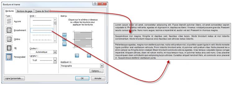Mise en forme du texte et des paragraphes r digez for Intemporel def