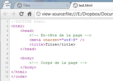 how to read source code of a web page