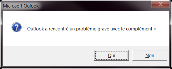 Windows 8 rencontre un probleme