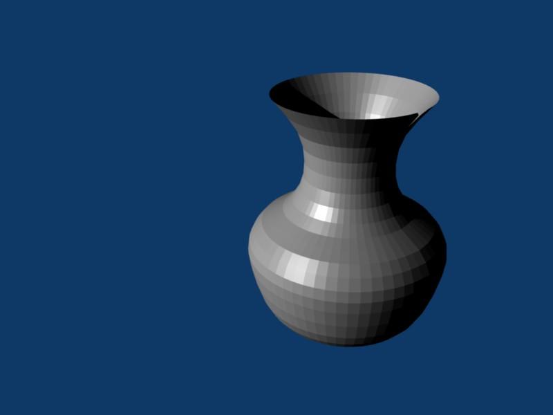 R solu blender dessin d 39 un vase spin laisse une - Dessiner un vase ...