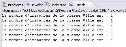 Utilisation de variables de classe