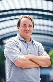 Linus Torvalds, créateur de Linux