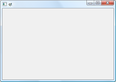La fen tre principale programmez avec le langage c for Windows 7 bureau vide