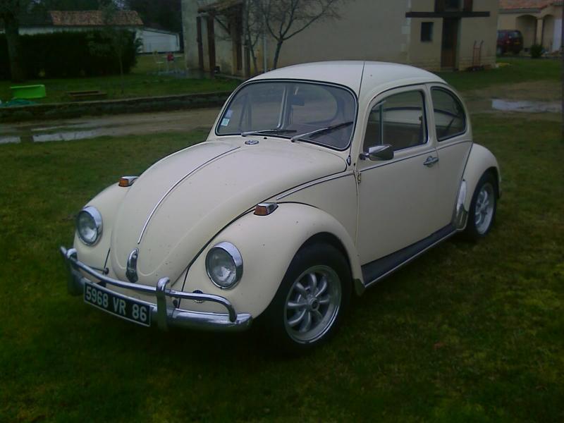 voiture coccinelle 1972