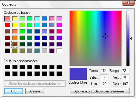 Bien-aimé Résolu] [Qt] Comment insérer une palette de couleurs ? - Faut-il  VV79
