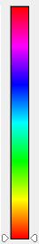 Incrustation couleur - Ensemble des gamme de couleurs disponibles dans le sélecteur