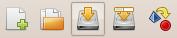 Enregistrer le diagramme par la barre d'outils