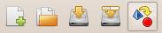 Exporter le diagramme par la barre d'outils