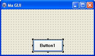 Interface avec bouton