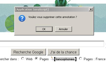 Modifier dynamiquement page HTML +annotations en javascript