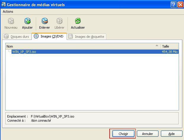 téléchargement de disque d'installation Windows XP