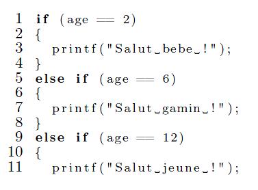 Citation de code