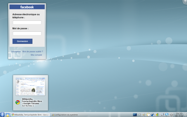 Kubuntu, basé sur KDE