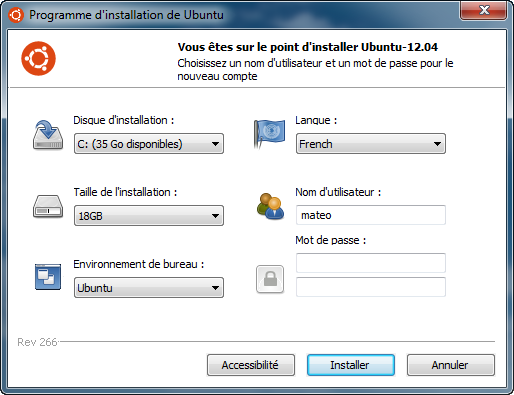 Installation De Linux Depuis Windows