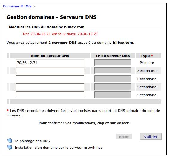 [Résolu] Délégation De Serveur DNS Chez OVH