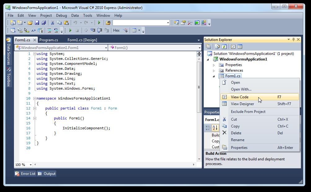 Les WinForms (ou Windows Forms) - Apprenez à programmer en