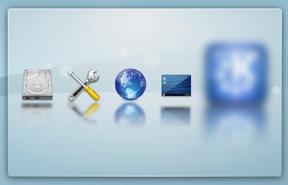 Chargement de KDE