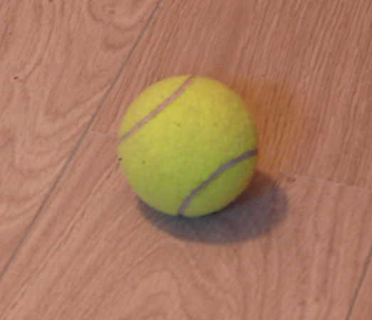 Pour reproduire cette balle, il faudra utiliser Intensity, Hardness et Specular