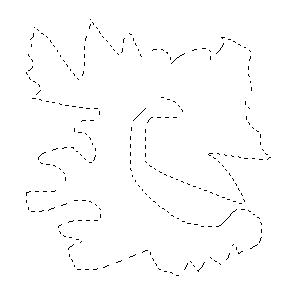 Outil Lasso - Exemple farfelu