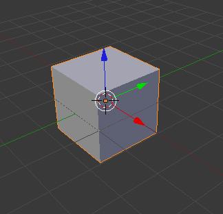 La vue Solid en Object Mode