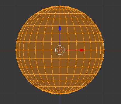 L'UV Sphere en mode édition