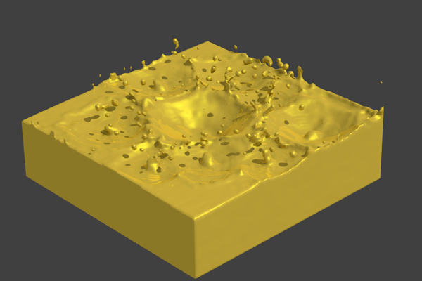 Obtenir une texture d'or avec l'effet Mirror