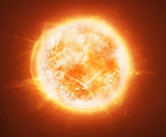 Un soleil avanc space art sur photoshop openclassrooms - Comment faire passer un coup de soleil ...