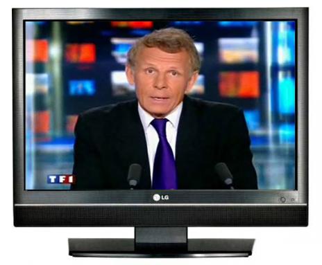 Homothétie - PPDA dans TV