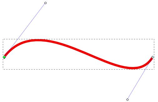 Former une courbe de Béziers, etape 3