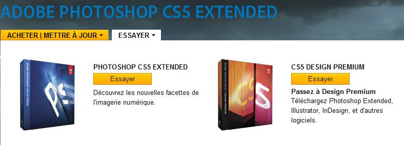Adobe Photoshop CS5 : essai