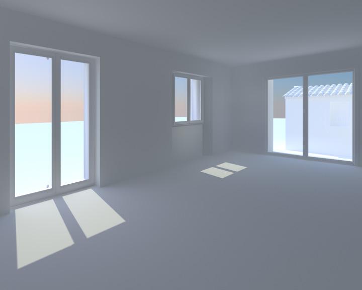 Blender rendu architecturaux r aliste int rieur for Interieur exterieur 01