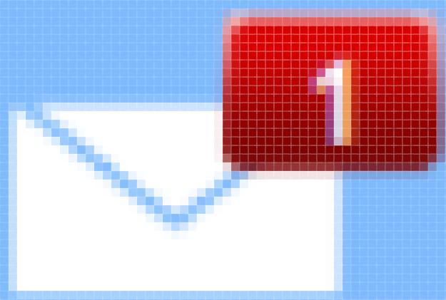 Le pixel - Boite de réception zoomée, pixels apparents