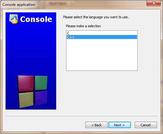 Nouveau projet C++