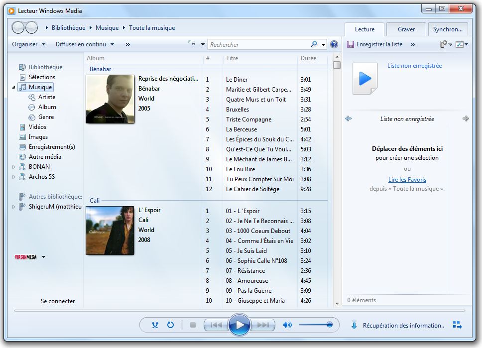 Le lecteur windows media musique et vid os d butez en - Open office en francais pour windows 7 ...