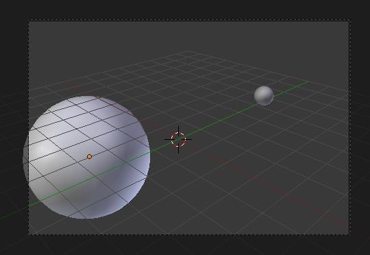 Redimensionner les UV Sphere