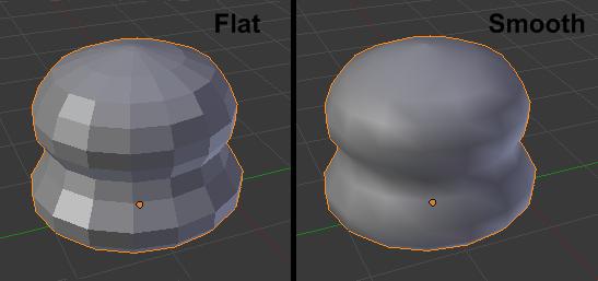 Les effets de Smooth et de Flat