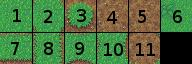 Tileset de base numéroté