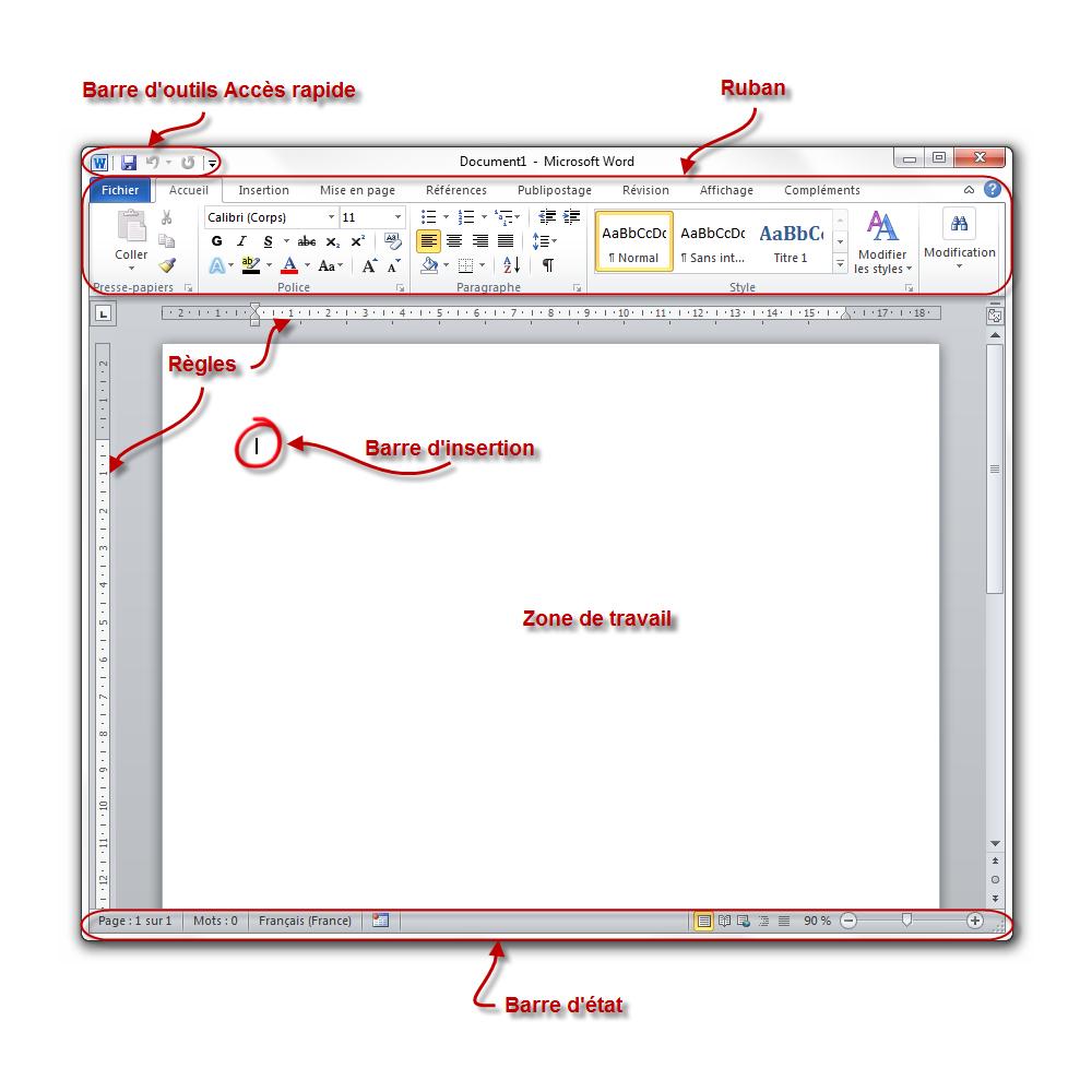 Word   le logiciel de traitement de texte - Traitez des textes avec ... d3524c14dbf6