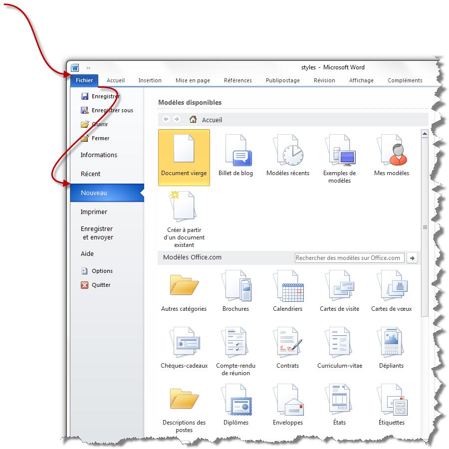 uniformisez votre document avec les styles