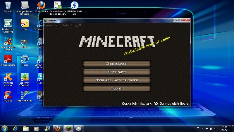 Faire un jeu comme minecraft une question par leblognouveau80 - Un jeu comme minecraft ...