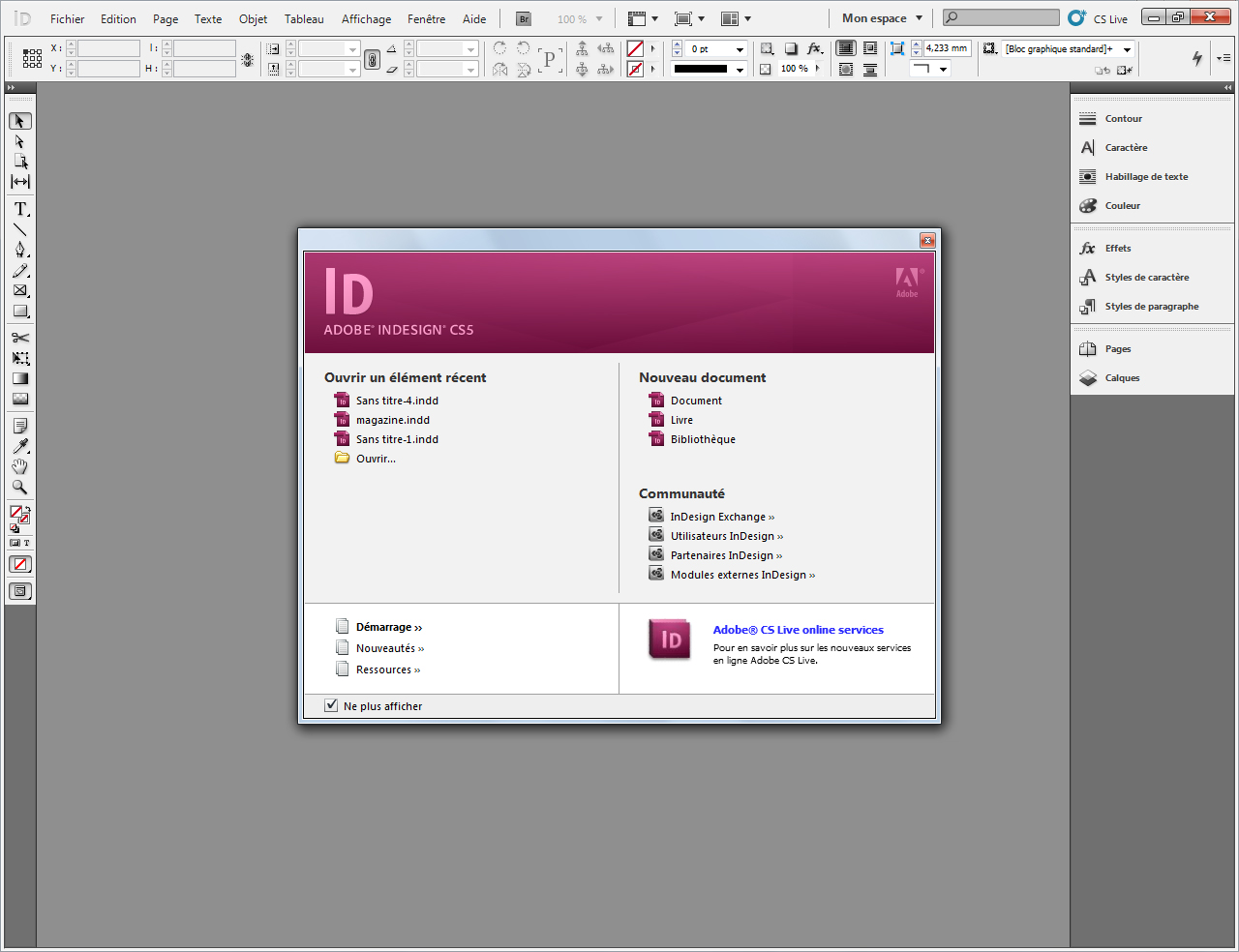 Indesign La Mise En Page Avec Adobe Indesign Openclassrooms