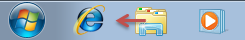 Déplacer un bouton sur la barre des tâches