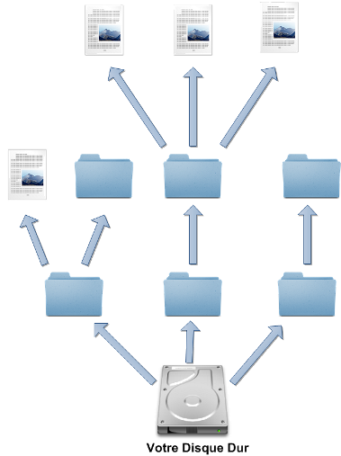 L'arborescence de votre disque dur