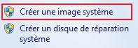 Créer une image système