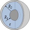 Figure 19: Condensateur sphérique