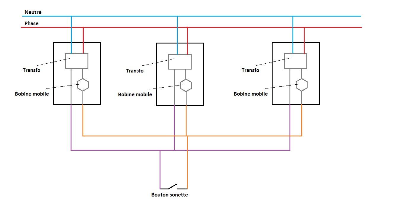 R solu sonnettes en parall le avec un seul bouton par cyril5789 opencla - Comment installer une sonnette filaire ...