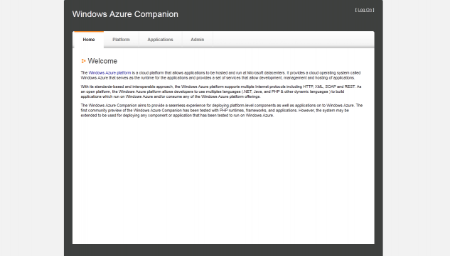 Accès à Windows Azure Companion par le port 8080